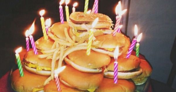 Birthday Burger Candles High Favim Com 3439806 Jpg 452 361