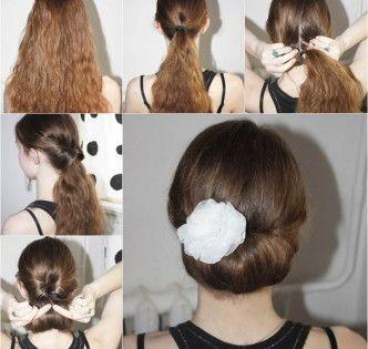Icreativeideas Com Creative Ideas To Creative Making Part 17 Bun Hairstyles Easy Bun Hairstyles Hair Styles