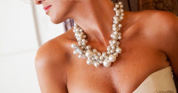 I like the chunky necklace {Necklace by Lee Angel}