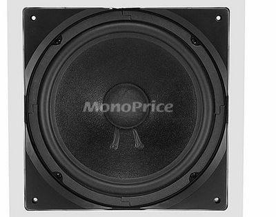 200 Watts Maximum Single 10 Inch Aria Series Monoprice In-Wall Passive Subwoofer