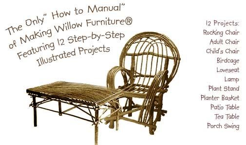 Making Bent Willow Furniture E Book