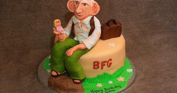 Bfg Cake The Bfg Party Inspiration Pinterest Cake And Cake Birthday