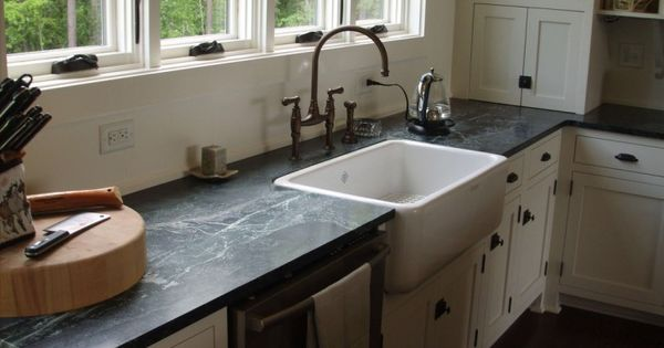 Ranch Style Sink : Traditional Style Kitchens with Ranch Style Apron Sinks, Black ...