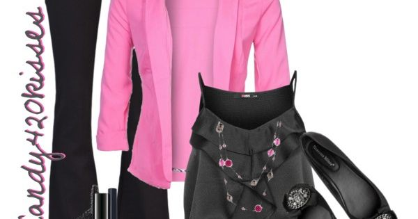 Black & Pink Outfit