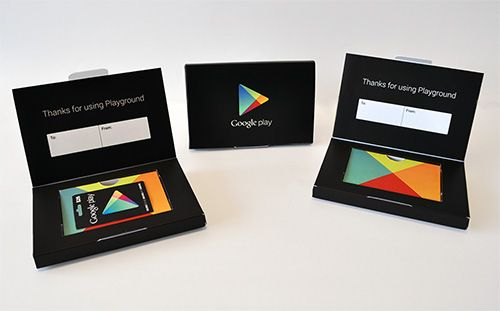 Stylish Custom Gift Card Packaging From Thepaperworker With
