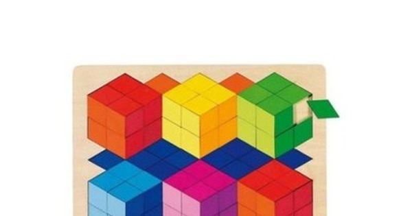 Goki 57664 Puzzle Szesciany 3d Pan Zabawka 5539108129 Oficjalne Archiwum Allegro Rubiks Cube Toys Puzzle