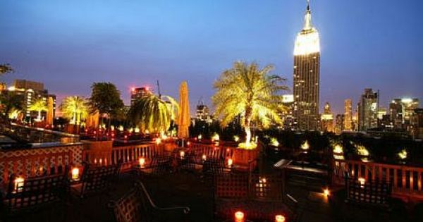 The Rooftop Bar At 230 Fifth Ave Nyc Awesome View Cool Concept