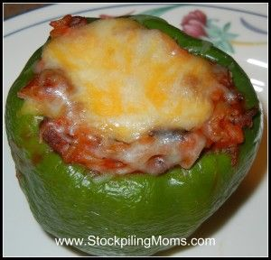 Stuffed Green Peppers Stuffed Peppers Stuffed Green Peppers Recipes