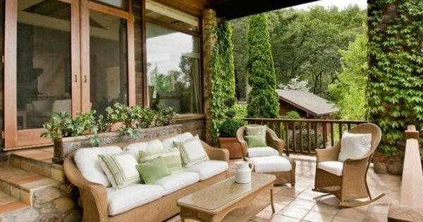 Porche jardines patios porches terrazas pinterest - Porches y jardines ...