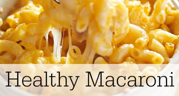 This healthy mac and cheese recipe from the Flat Belly Diet is