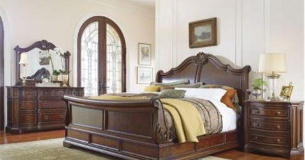 Univ 509 King Universal Casa Verona King Sleigh Bed Mathis