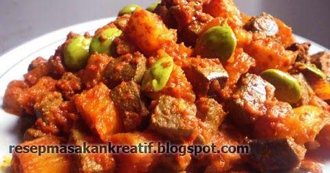 Resep Sambal Goreng Ati Sapi Enak Masakan Indonesia Resep Masakan Indonesia Resep Masakan Sehat
