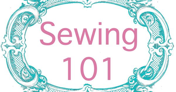 sewing lessons for my new sewing machine.