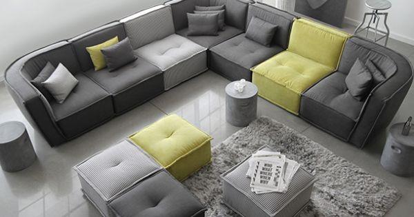 Maison corbeil produits maison pinterest canapes for Sofa sectionnel maison corbeil