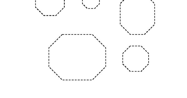 Tracing Worksheets – Octagon