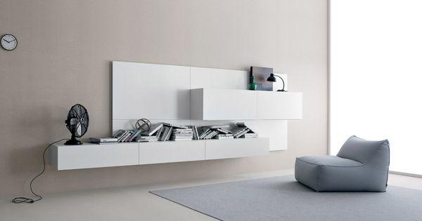 Sistema modulare librerie modello spazio moduli for Euromobilia napoli