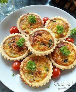Quiche Daging Asap Daging Asap Resep Masakan Makanan