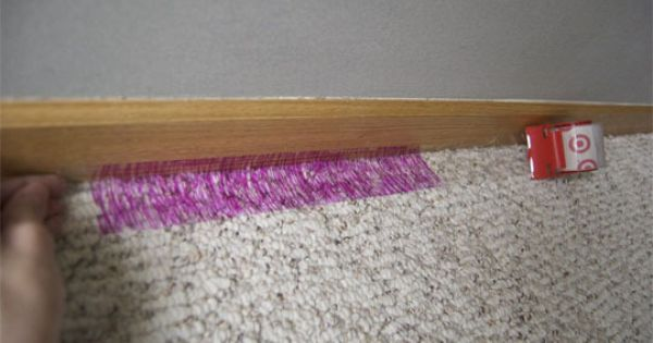 Quick tip 34 how to protect carpet when painting for Cost to paint baseboard