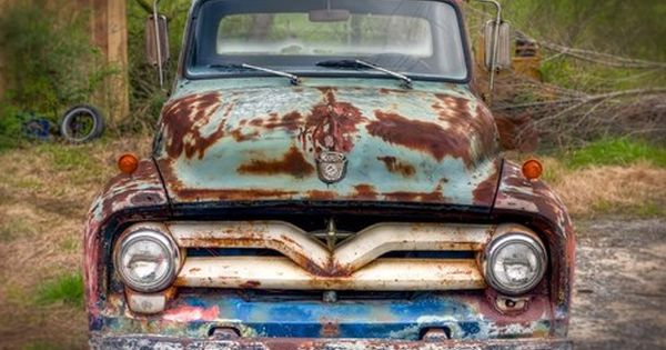 Ford Truck Front By Bob Rouse Vintage Trucks Chevy Trucks Classic Chevy Trucks