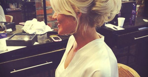 I want my hair done like this! So cute!