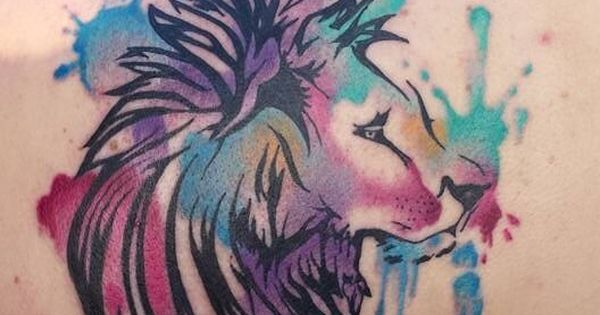 Watercolor lion by lance coulam in salt lake city ut for Pandora jewelry salt lake city