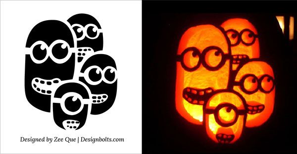 10 Best Free Minion Pumpkin Carving Stencils Patterns Ideas For Kids 2015 Minion Pumpkin Pumpkin Carving Halloween Pumpkin Carving Stencils