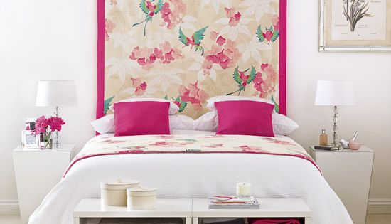 Pink is all grown up pink accents bedroom designs and for Grown up bedroom designs