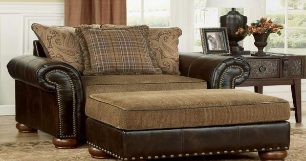 lazy boy chair and a half with ottoman chair and a half pinterest ottomans living rooms. Black Bedroom Furniture Sets. Home Design Ideas
