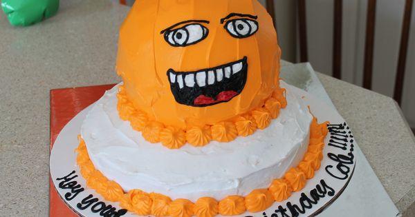 Annoying Orange Cake Party Ideas Pinterest Cake