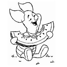 Top 30 Free Printable Cute Winnie The Pooh Coloring Pages Online Summer Coloring Pages Disney Coloring Pages Cute Coloring Pages