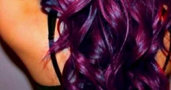 Eggplant purple. Love it! I wish I had the guts!!