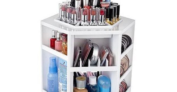 Tabletop Spinning Cosmetic Organizer by Lori Greiner $25.00 good idea poor product