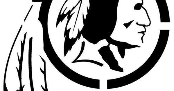 Stencil REDSKINS Pinterest Sports logos Logos