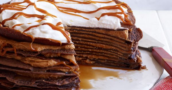 Dulce de Leche Crepe Cake Recipe : Food Network Kitchens : Recipes
