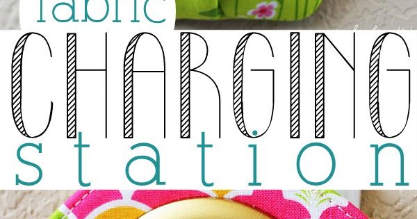 Hanging phone charging station sewing pattern and tutorial. This is such a