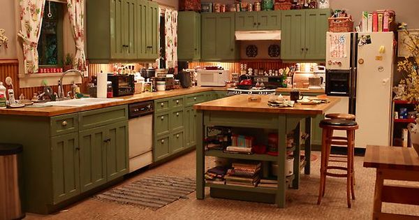 Zeek And Camille S Kitchen Parenthood As Seen On Parenthood Pinterest Kitchens House