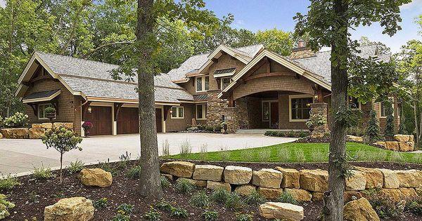 on plan 14623rk 4 bed craftsman dream home