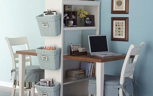 Office at home diy smallspace