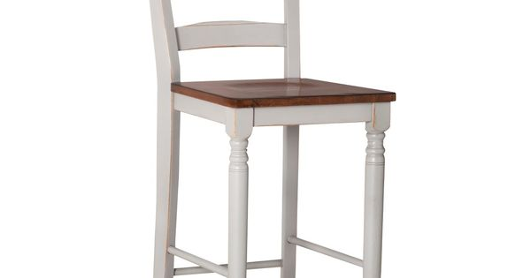 Mulberry Distressed Two Tone 24 Quot Counter Stool Jobs