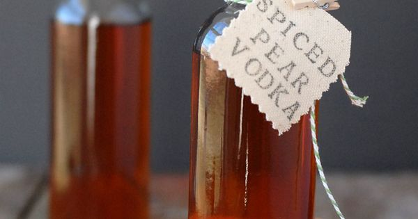 Homemade Spiced Pear Vodka | Recipe | Pears, Vodka and Homemade