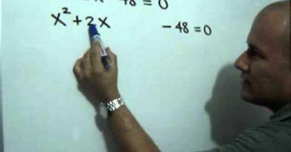 Ecuacion Cuadratica En Un Triangulo Rectangulo Angulos Matematicas Ecuaciones Cuadraticas Secundaria Matematicas