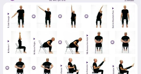 Chair Yoga Yoga Office Chair Easy Yoga Poses For Seniors