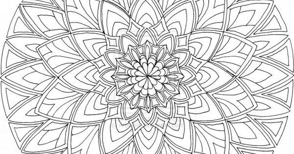 Desenhos Para Colorir Dif 237 Cil Mandala N 237 Vel Mandalas