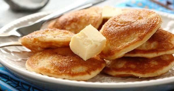 طريقة عمل المصابيب القصيمية Recipe Food Pancakes Cornmeal