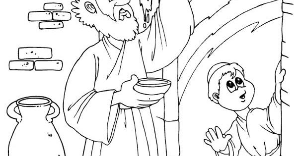 passover plagues coloring pages - photo#11