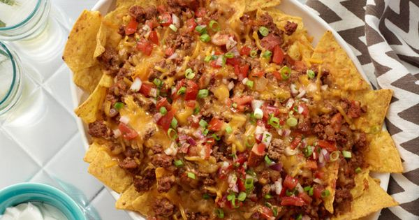 Chili Dog Nachos - fun recipe for football party