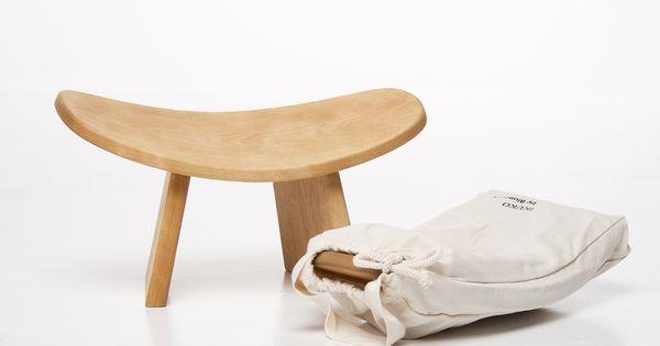 tabouret de m ditation con u par philippe funez meditation stool by montreal designer. Black Bedroom Furniture Sets. Home Design Ideas
