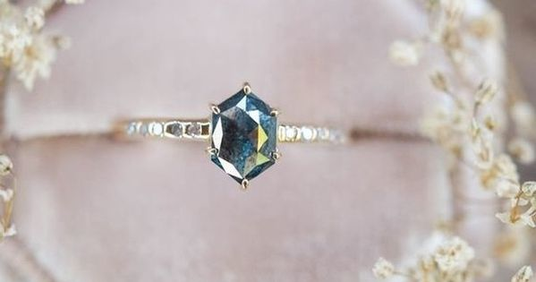 When Considering My Business Name Change I Was Certain That I Wanted To Use The Word Hexagon Diamond Ring Engagement Rings Sapphire Unique Engagement Rings