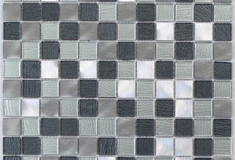 Plaque De Mosaique De Verre 30 X 30 Cm Brico Depot Laine De Verre Carrelage Cuisine Laine De Roche