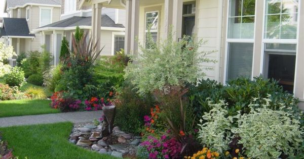Front yard landscaping ideas for a ranch house | Dream home ideas